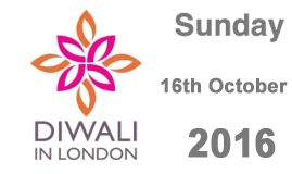 Diwali In London - Sunday 16th October 2016
